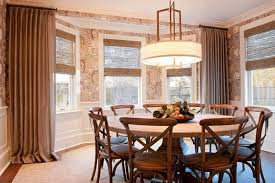 curtain ideas for dining room 20 dining room window treatment ideas home design lover