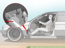 Car That Seats 5 Comfortably How To Adjust Seating To The Proper Position While Driving