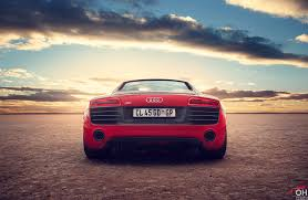sunset audi audi r8 rear sunset ohirtenfelder flickr