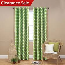 Amazon Thermal Drapes Green Curtains For Living Room Amazon Com