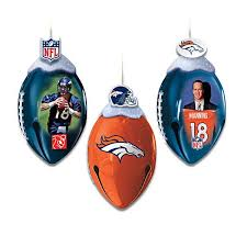 110 best nfl ornaments images on denver broncos