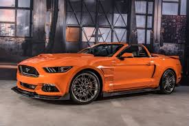orange mustang convertible pearl orange 2017 ford mustang convertible concept the