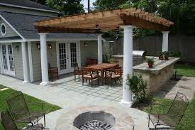 seattle free standing patio traditional with concrete paving