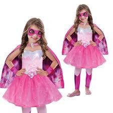 barbie halloween costume christys dress up superhero barbie princess power girls fancy