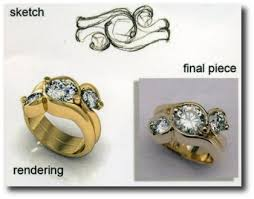 Custom Wedding Rings by Custom Jewelry Designers Pittsburgh Custom Engagement Rings