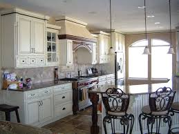 Country Kitchen Ideas L Shape Kitchen Design Using Black Granite Kitchen Counter Top