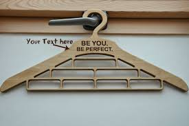 wood gifts for him 44 00 usd personalized wooden hanger for ties bow ties scarf