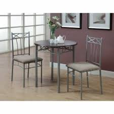 Marble Bistro Table And Chairs 3 Piece Kitchen Bistro Set Foter