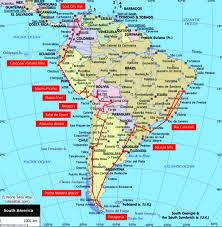 American Route Map by South America Route Places To Hit Backpacking Pinterest