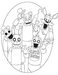 fnaf mangle coloring pages five nights at freddy s fnaf coloring pages coloring pages for