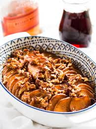 bourbon maple glazed sweet potatoes if you give a a kitchen
