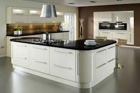 kitchen central island vico alabaster gloss kitchen hugel designer kitchens bedrooms
