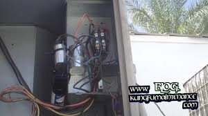 how to replace annoying noisy buzzing air conditioner contactor