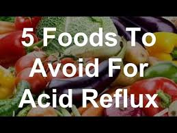 5 foods to avoid for acid reflux youtube