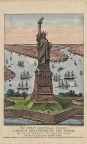 Met Museum Map The Great Bartholdi Statue U2013 Liberty Enlightening The World