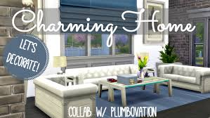 sims 4 interior design charming family home youtube the sims 4