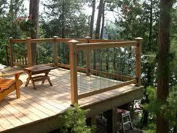 deck post railing brackets deck design and ideas