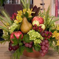 fruit floral arrangements silk flowers how to use fruit in artificial floral