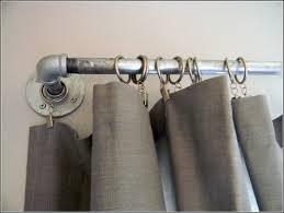 bay window curtain rods ikea curtains home design ideas