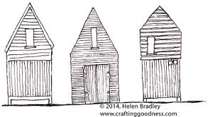 thoughts on drawing old wooden houses crafting goodness