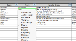 Construction Punch List Template Excel Punchlist Template Png