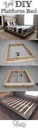 Diy Platform Storage Bed Queen by Best 25 Diy Platform Bed Frame Ideas On Pinterest Diy Platform
