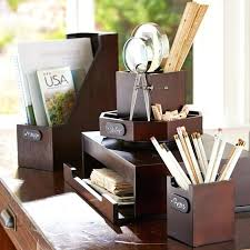 Wood Desk Accessories And Organizers Wooden Desk Accessories Burl Wood Organizer Office Plans Interque Co
