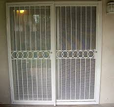 French Security Doors - sliding patio door security bar advice for your home decoration