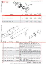 massey ferguson front axle page 66 sparex parts lists