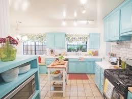 Blue Countertop Kitchen Ideas Sunny Blue Kitchen Ideas