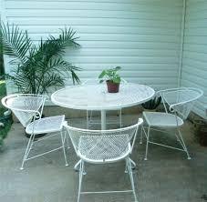 Wrought Iron Patio Furniture Vintage Patio Ideas Wrought Iron Patio Furniture Leg Caps Wrought Iron