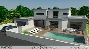 villa d architecte contemporaine maison etec architecture pinterest maison toit terrasse