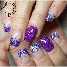 top 40 beautiful glitter nail designs to make you look trendy and