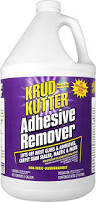 Removing Laminate Flooring Glue Amazon Com Krud Kutter Ar01 Clear Adhesive Remover With Mild Odor