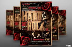 20 band flyer template psd for event concert and live music 20