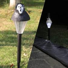 Halloween Stake Lights by Halloween Ghost Pumpkin Solar Powered Garden Light Led For Path Lawn