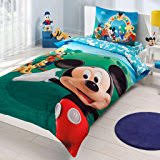 Mickey And Minnie Mouse Bedding Amazon Com Mickey And Minnie Mouse King Queen Adults Cartoon