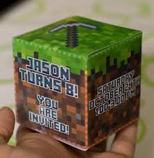 minecraft birthday invitations minecraft birthday invitations best party ideas