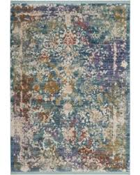 Lavender Area Rugs Deals On Safavieh Sutton Turquoise Lavender Area Rug 8 X 10