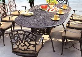 cast aluminum patio set lovely home styles biscayne black cast