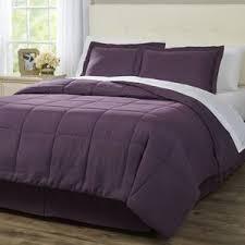 Purple Ruffle Comforter Purple Bedding Sets You U0027ll Love Wayfair
