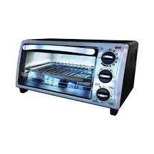 Toaster Oven Reheat Pizza Black U0026 Decker 4 Slice Toaster Oven Toast Broil Bake Keep