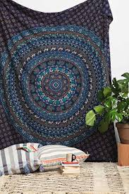 Urban Outfitters Magical Thinking Duvet Thinking Turquoise Elephant Medallion Tapestry Urban Outfitters