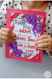 printable fill in the blank thank you cards super easy note