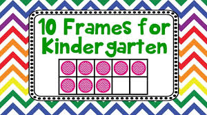 10 frames for kindergarten kids adding counting using ten frames
