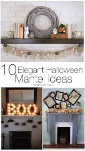 10 elegant halloween mantel ideas design dazzle