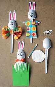 cool easter ideas 40 simple easter crafts for kids plastic spoons easter crafts