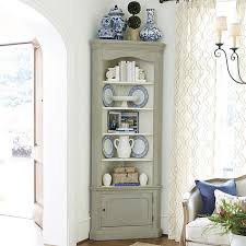 Marlene Corner Display Cabinet H X  W X  D For - Kitchen display cabinet