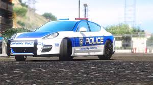police porsche porsche panamera turbo need for speed pursuit police car
