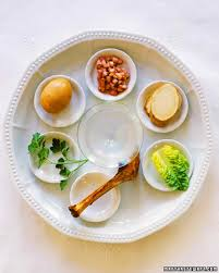 seder meal plate passover entertaining ideas martha stewart